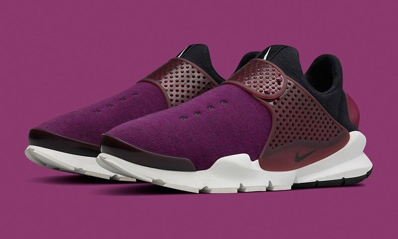 DS Mulberry New Authentic Nike Sock Dart Tech Fleece Mulberry DS Maroon 10 (834669 501) 044f5c