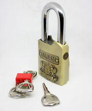 Top Security Anti-Theft Alarm Lock Padlock Weather Proof Heavy Duty Burglar Lock