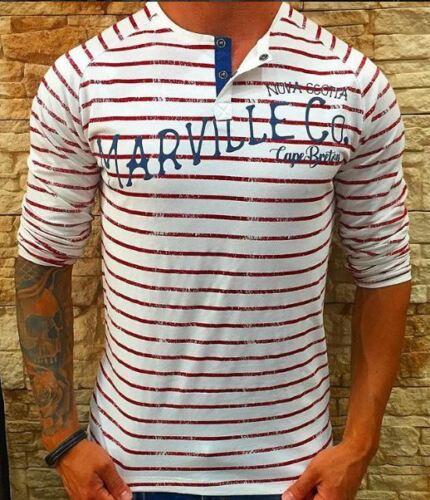 Cotone Serafino 100 Girocollo shirt Raglan T Marville Manica CvqBXvw
