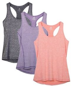 48deadf908dd9 Image is loading icyzone-Activewear-Running-Workouts-Clothes-Yoga-Racerback- Tank-