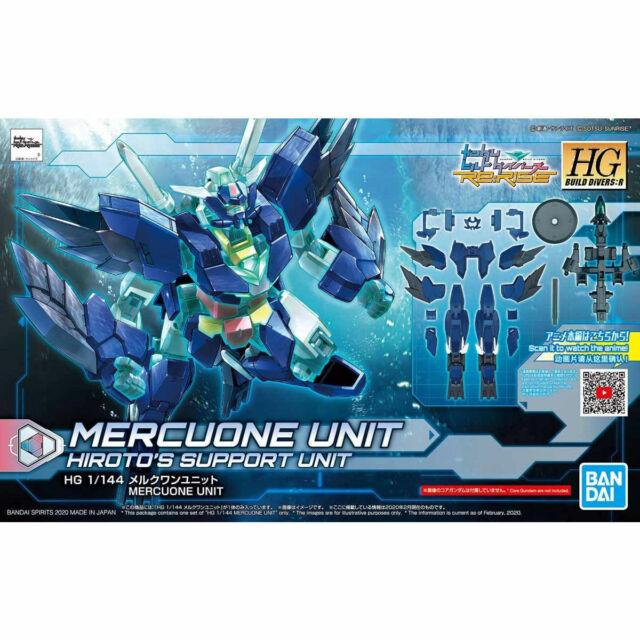 Bandai HG Build Divers: R Mercone Unit HGBD:R 1/144 #017 Gundam Model Kits