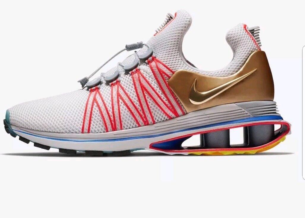 Nike Nike Nike Shox Gravity Metallic gold Aq8553 009 USA Olympics 2018 36f18f