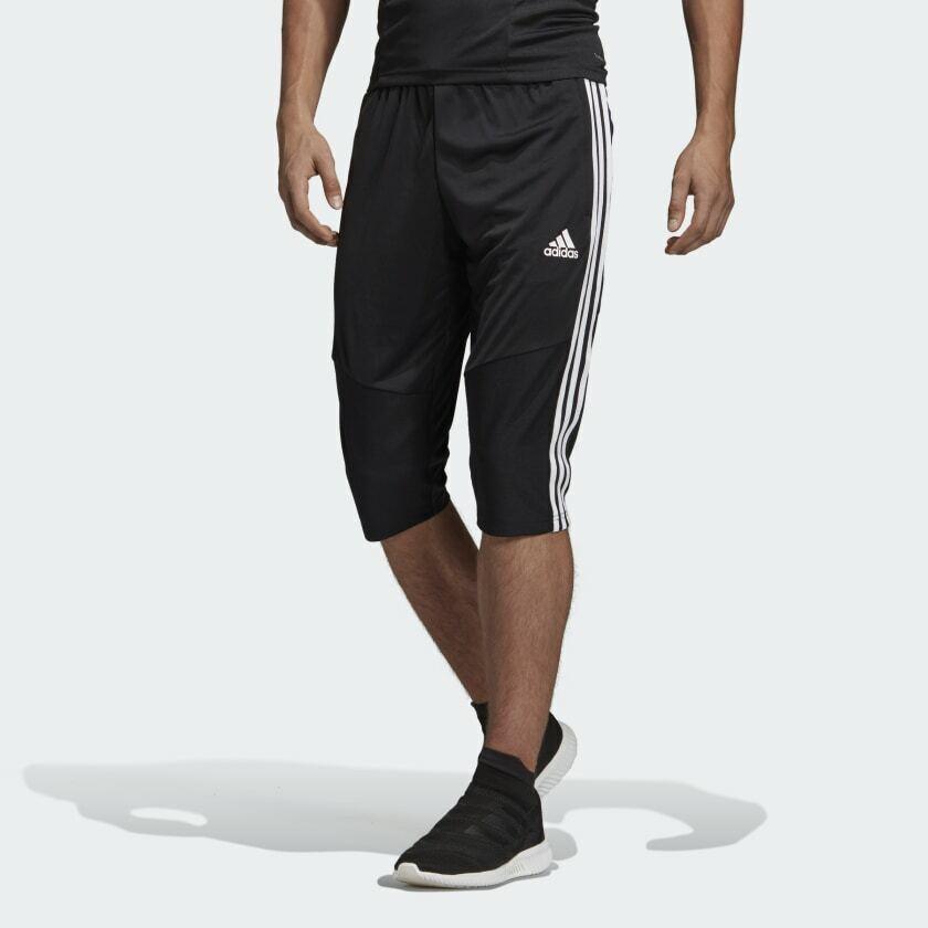 Adidas ATH 3S 3//4 Pants BI4516 BI4515 Soccer Football Training Climalite Shorts