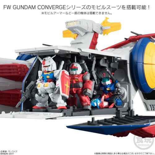 FW Gundam Converge White Base /& Operation V set Tamashii exclusive Bandai