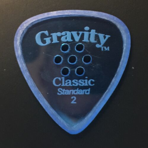 Gravity Picks Europe Classic Razer Sunrise Plectrum