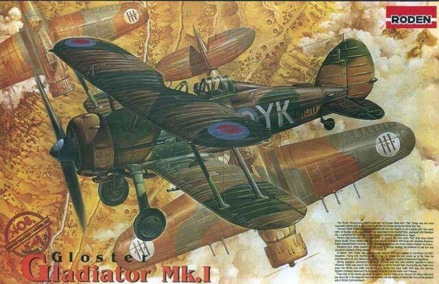 Roden 408 - 1:48 Gloster Gladiator Mk.i - New