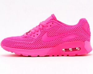 check out 4bd8e a0fcb Image is loading NIKE-WOMENS-AIR-MAX-90-ULTRA-BR-Pink-