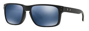 Authentic-Oakley-Polarised-HOLBROOK-Sunglasses-OO-9102-Black-Ice-Iridium-9102-52