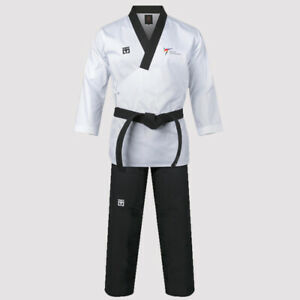 Mooto Original Official 3F Taekwondo Uniform Dobok Gi V Neck  KTA WTF Approved