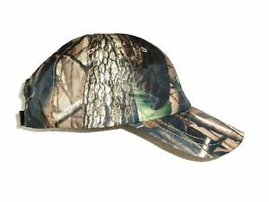 75fdbff8 Details about GENTS SHOWERPROOF OAK TREE CAMO BASEBALL CAP mens windproof  country hat