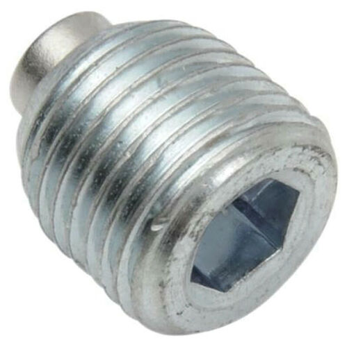 739A Drag Specialties Magnetic Primary Drain Plug Harley Big Twins 1987-03 repl