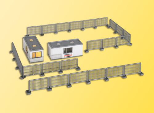 Edificio h0-contenedor Strabag con iluminación LED kit 1:87 38626 Kibri