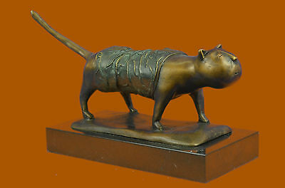 "Sealed Signed Figurine Decor FERNANDO BOTERO /""The Cat/"" Lovely Bronze Sculpture"