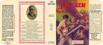 umschlag 1 Edgar Rice Burroughs The Mucker Faksimile Dust Grosset&dunlap Ausgereifte Technologien