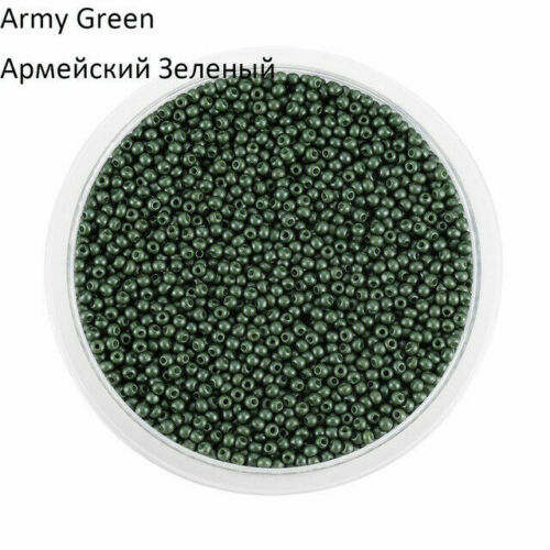 2mm 1800pcs//lot Czech Glass Round Spacer Loose Beads for DIY Jewelry Making