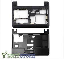 New Lenovo ThinkPad Edge E130 E135 Base Bottom Cover+ Upper Case Palmrest USA