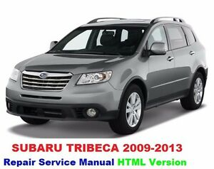 subaru tribeca 2005 2013 factory service repair manual fast send ebay rh ebay com 2010 Subaru Tribeca Interior 2008 Subaru Tribeca Problems
