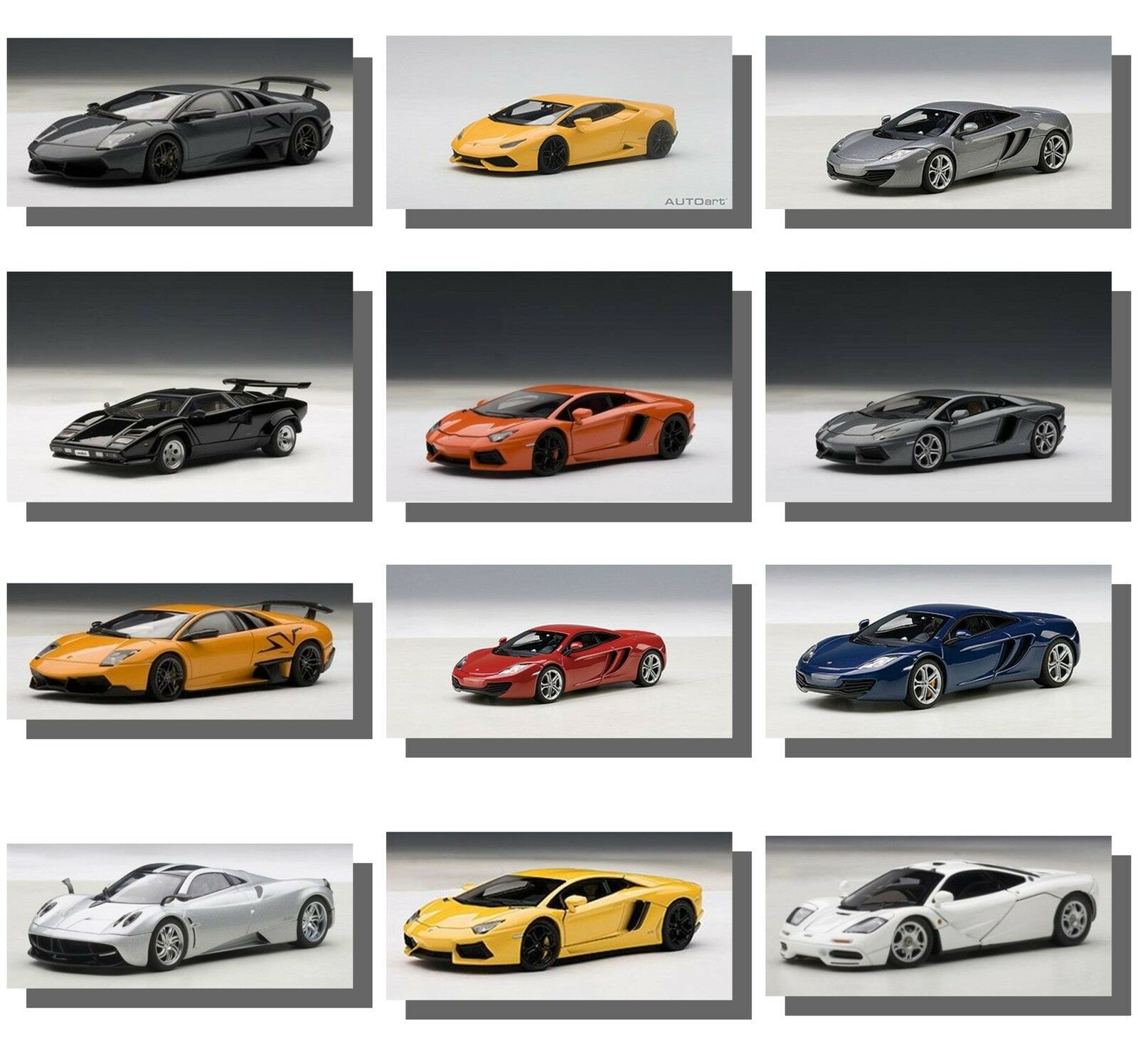 Autoart 1 18 Scale Cars, Extremely  High Quality.