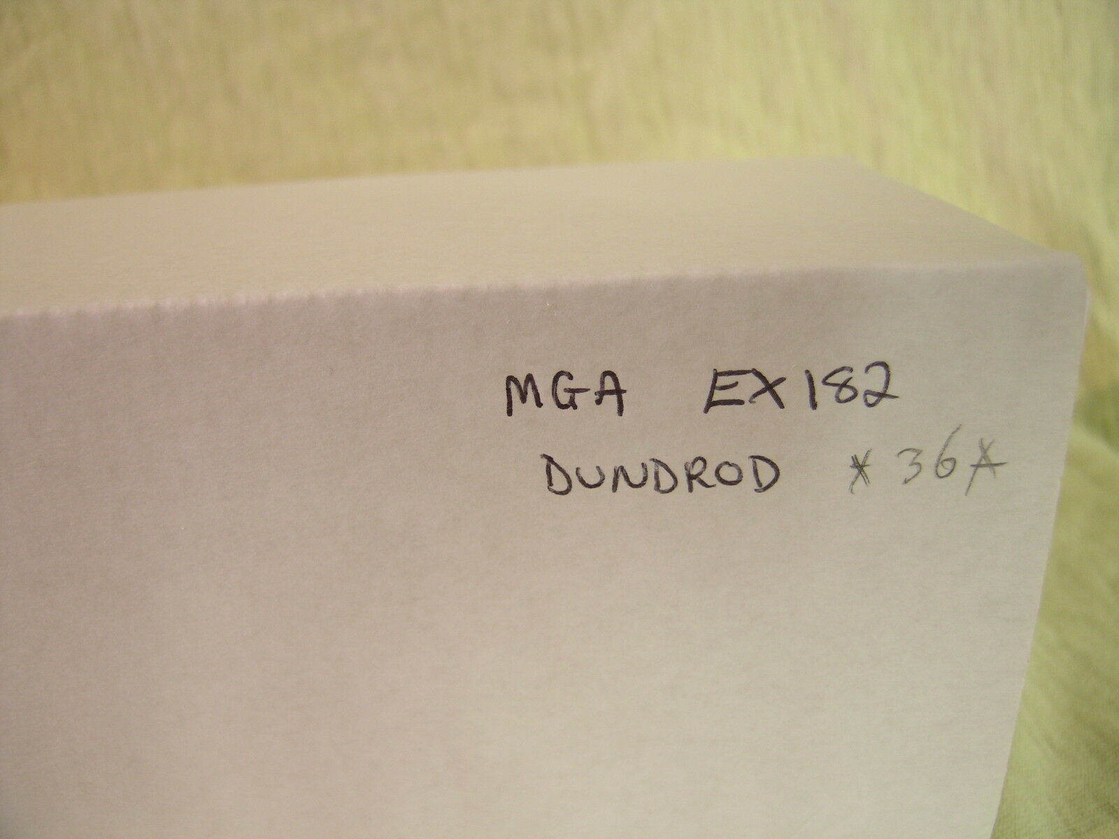K&R UK MG A EX182 DUNDROD WORKSTEAM 36 BRG WHITEMETAL WHITEMETAL WHITEMETAL HANDBUILT + BOX 1 43 40a5aa