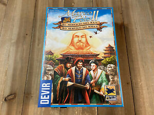 juego de mesa - MARCO POLO II - Ed. Española DEVIR - Eurogame
