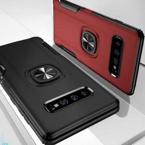 Case-For-Samsung-Galaxy-S10-S9-Plus-Adsorption-Magnetic-Ring-Holder-Case-Cover