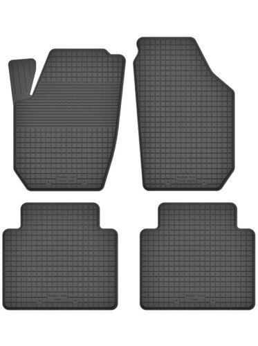 Gummimatten Fußmatten 1.5 cm Rand Bj. ab 2005 TOYOTA HILUX VII 4-teile Set