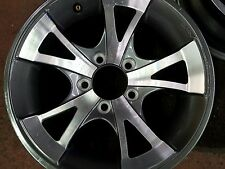 "14"" 5 Lug GREY/ SILVER Alum Trailer Wheel camper ,boat,  RV Direct  LOW $"