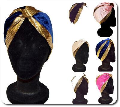 Turban Mütze Fashion 2019 Cap Kopfbedeckung Kopftuch Wrap Hüte