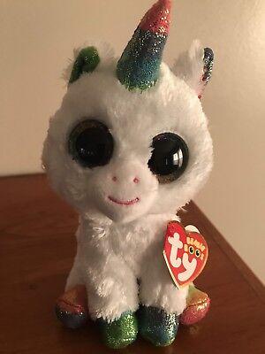"2019 TY Flippables Sequin 3/"" PIXY Unicorn Beanie Boo Key Clip Plush Toy MWMTs"