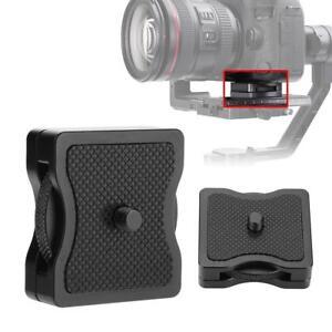 Alloy-1-4-034-Camera-Riser-Mount-Plate-for-Zhiyun-Crane-Dji-Ronin-S-Stabilizer-LJ