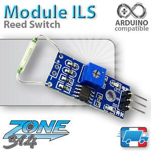 Module-ILS-Interrupteur-lame-souple-3-3V-5V-Arduino-reed-switch