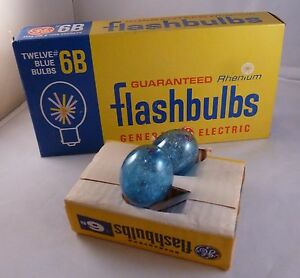 12 General Electric 6b 6 B Sure Rhenium Flash Bulbs Avec Les éQuipements Et Les Techniques Les Plus Modernes