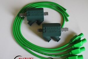 Kawasaki-Z1100R-ELR-Dyna-Performance-Ignition-Coils-and-Taylor-Leads-Green