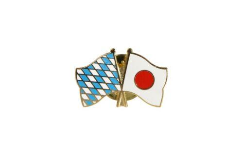 Baviera-japón banderas pin banderas pins fahnenpin flaggenpin ele