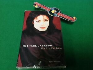 Michael-Jackson-You-Are-Not-Alone-NEW-SEALED-R-Kelly-Cassette-Piranha-Records