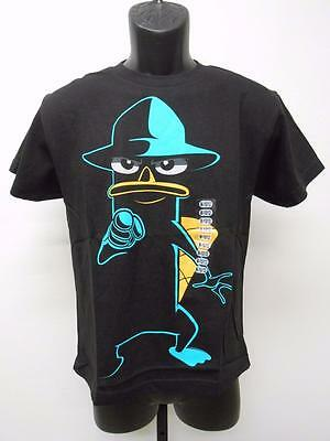 Kids' Clothing, Shoes & Accs Clothing, Shoes & Accessories New Phineas & Ferb Secret Agent Perry Youth Medium M Size 10/12 T-shirt 67mr