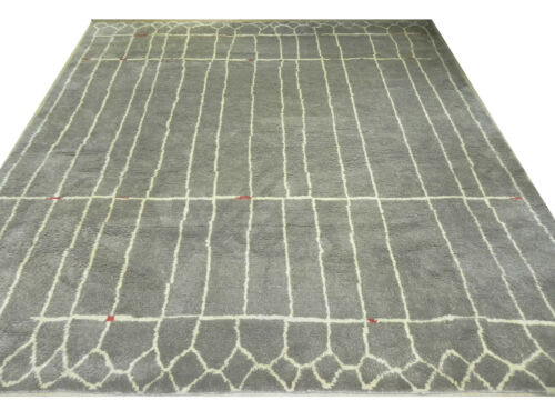 MOROCCAN Design Handmade Rug. 100% Wool Carpet. Made to measure in any size