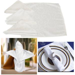 Damasse-coton-polyester-serviettes-de-table-de-Mariage-usure-decoration-tissu-doux