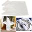 Damasse-coton-polyester-serviettes-de-table-de-Mariage-usure-decoration-tissu-doux miniature 1