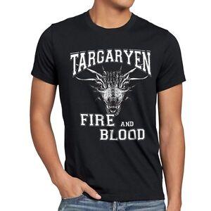Game of Thrones Maglietta Maglia T Shirt Stark Houses Size L