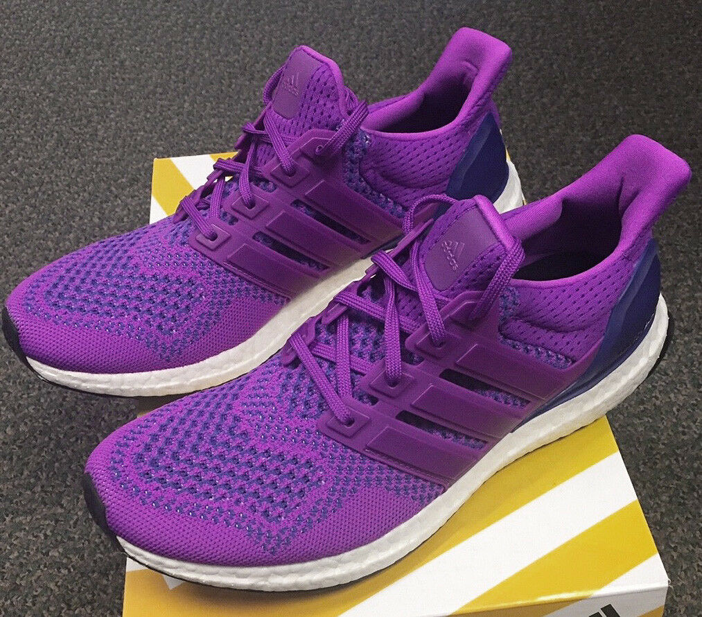2015 ADIDAS ULTRA BOOST 1.0 FLASH PINK PURPLE Gr.39 1 3 UK6 ltd B34051 triple og