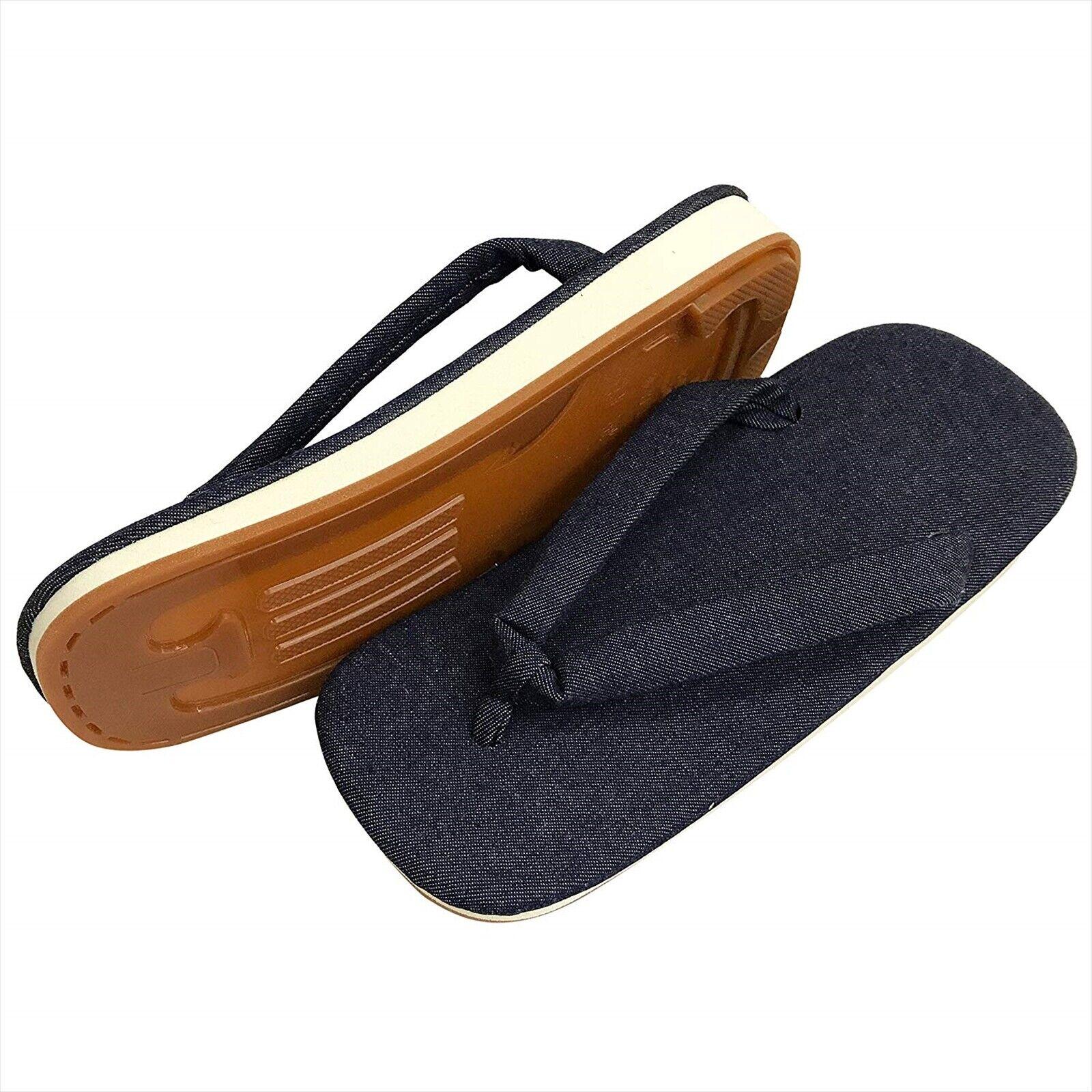 Sandalias japonés Setta Calzados Hombre Denim Tamaño L hecho en Japón