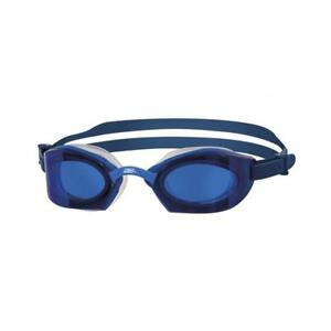 Zoggs-Adult-Ultima-Air-Titanium-Swimming-Goggles-in-Blue-w-Mirror-Lenses