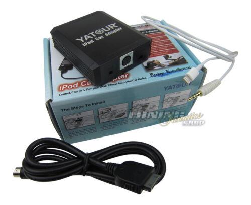 IPod iPad iPhone 4 5 6 Interface Lightning adaptador para Alfa Romeo radio original