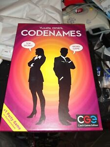 Codenames Board Game Czech Games Edition  Vlaada Chvatil inv. 100% see pics
