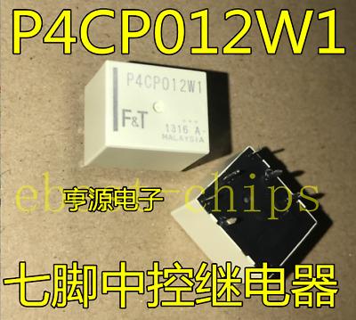 14PCS Fujitsu P4CP012W1 General Purpose White Relays   #K1995