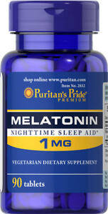 Puritan-039-s-Pride-Melatonin-1-mg-90-Tablets