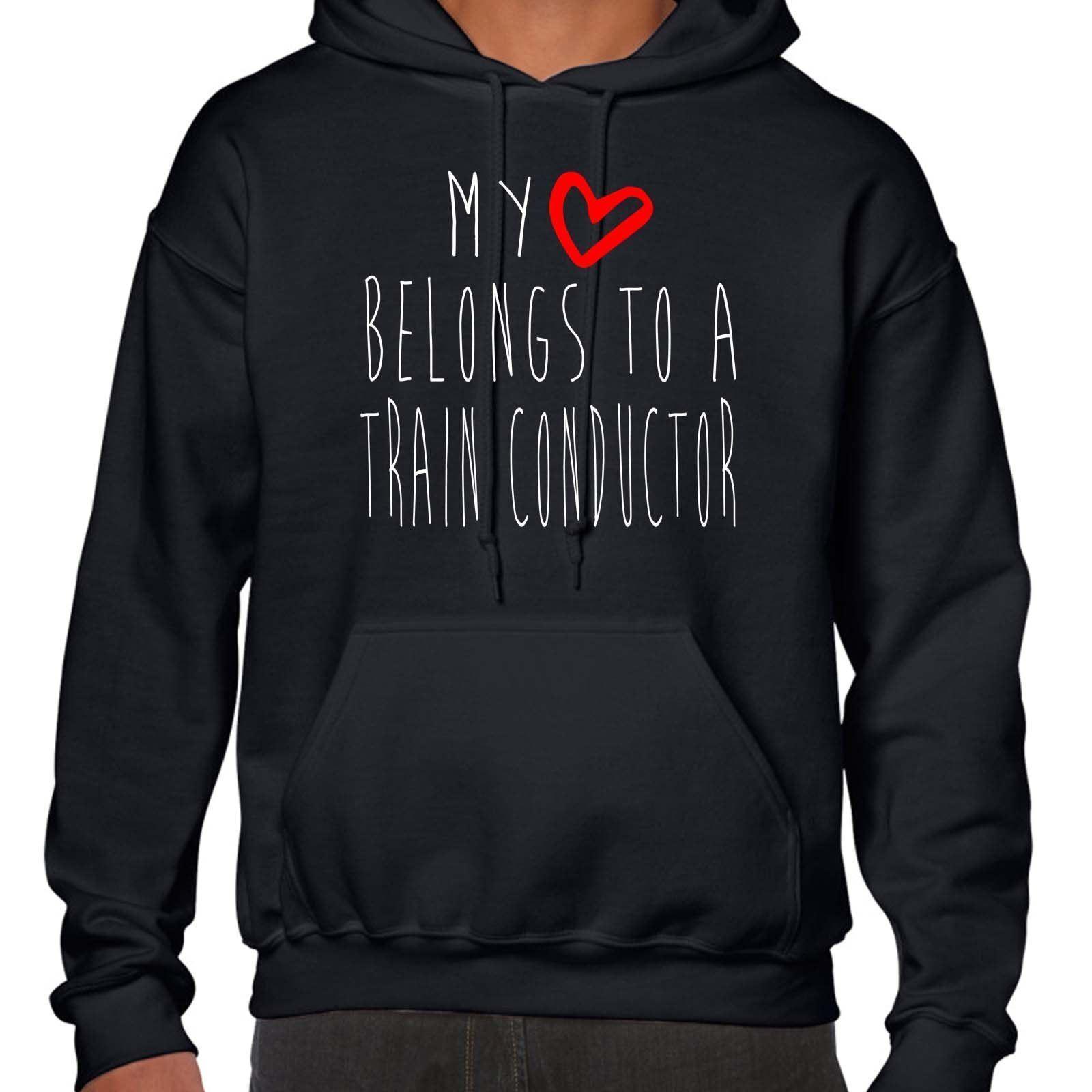 mi corazón pertenece pertenece pertenece a una Cola Conductor Sudadera Con Capucha 97c020