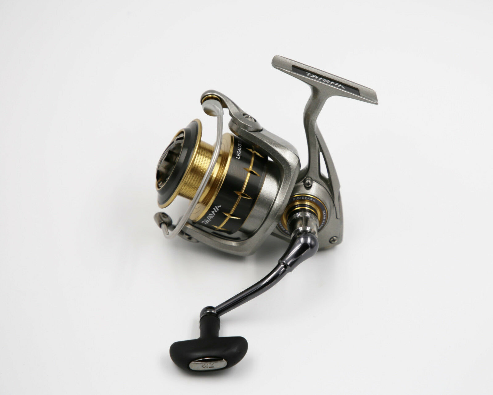 DAIWA 12 legalis 3520pe-sh spinnrolle spinnfischrolle frontbremsrolle