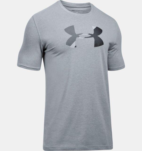 New M Under Armour UA Men/'s Sportstyle Logo SS T-Shirt Navy